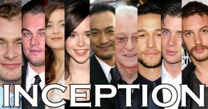 L'excellent casting d'Inception (montage actu-cinema.net)