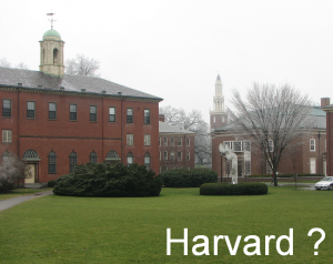 Harvard or not Harvard ?