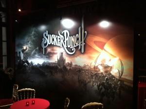 Le décor de la soirée VIP Sucker Punch au Trianon