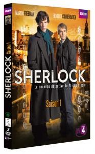 Coffret DVD Sherlock