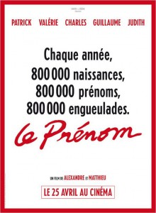 Le Prnom : Affiche