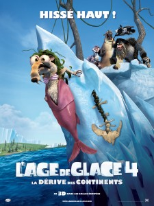 L'ge de Glace 4 - Affiche