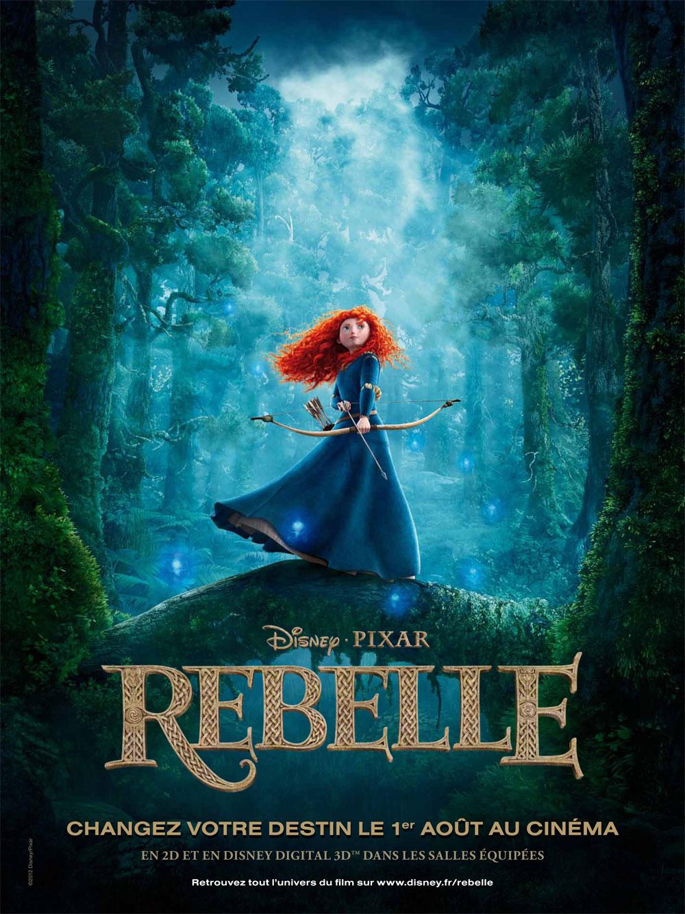 Disney pixar rebelle la petite mu qui plume for 3d film archive