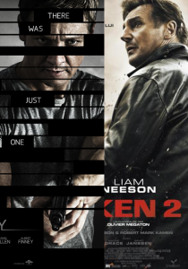 Affiches Bourne Legacy Taken 2